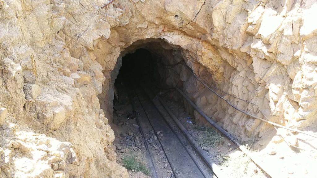 土状黒鉛鉱山