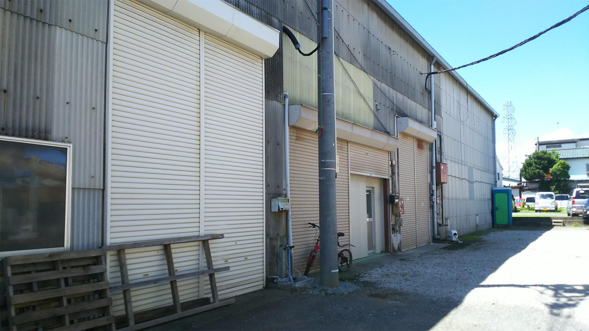 膨張黒鉛工場
