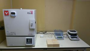 膨張黒鉛分析機器